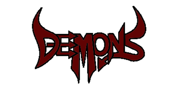 Demons Logo Before Cleaning up